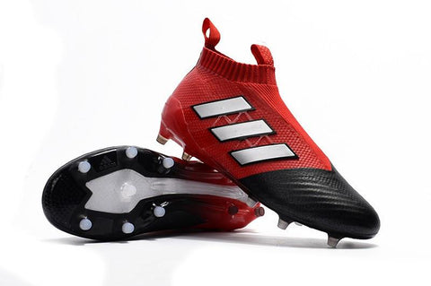 ACE 17+ PureControl FG - Red Core Black - TNT Soccer Shop