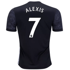Man. United 17/18 Away Jersey Alexis Sánchez #7 Ready to Ship!