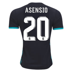Real Madrid 17/18 Away Jersey Asensio #20 Jersey TNT Soccer Shop