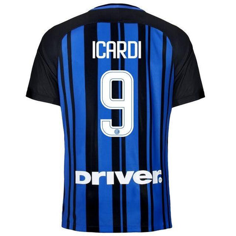 Inter Milan 17/18 Home Jersey Icardi #9 - IN STOCK NOW - TNT Soccer Shop
