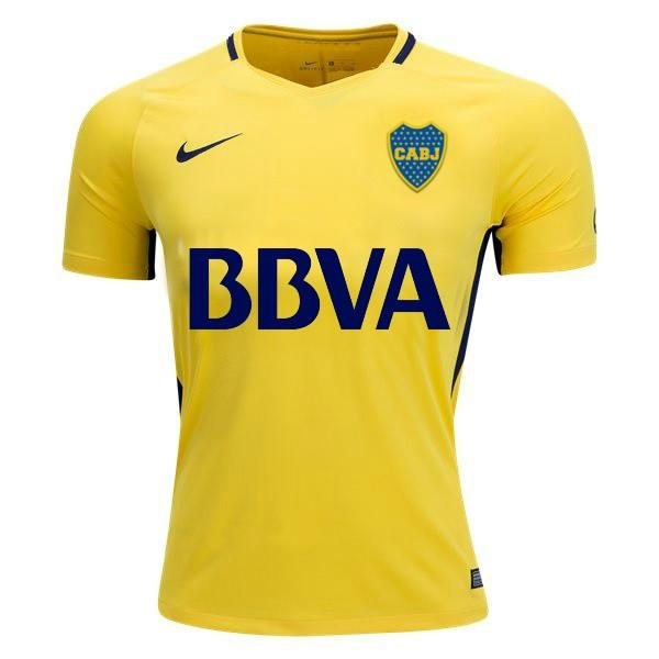 detailed look 7713f 7cafc Boca Juniors 17/18 Away Jersey