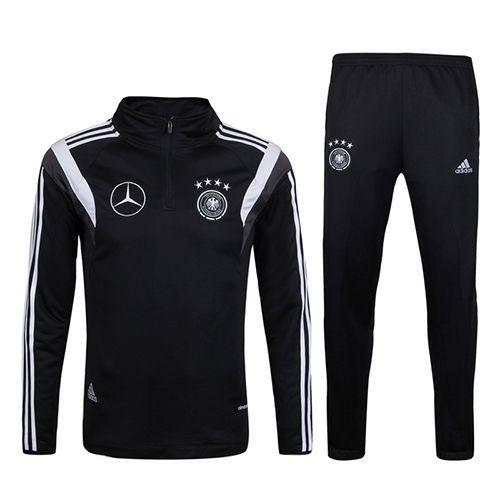 Germany 2017 Black Pre-match Tracksuit Jacket TNT Soccer Shop