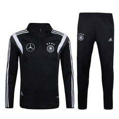 Germany 2017 Black Pre-match Tracksuit - IN STOCK NOW - TNT Soccer Shop