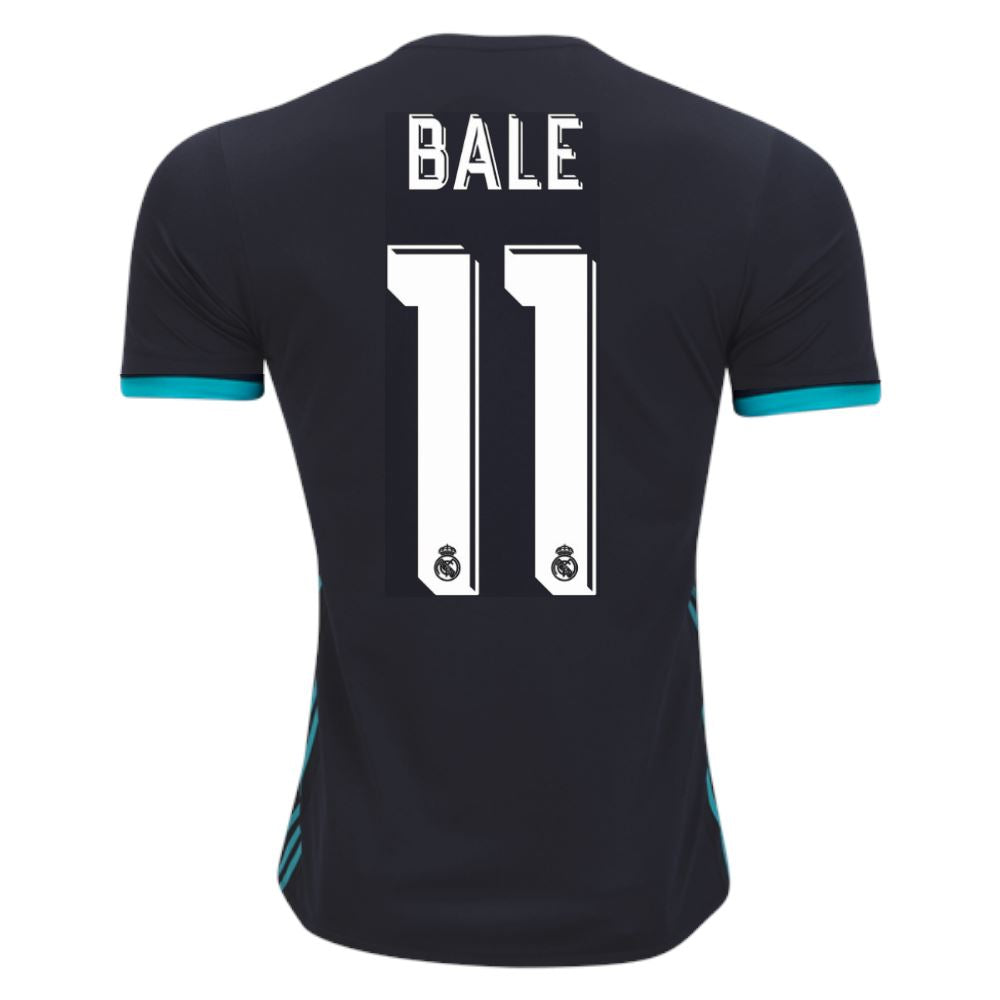 Real Madrid 17/18 Away Jersey Bale #11 Jersey TNT Soccer Shop