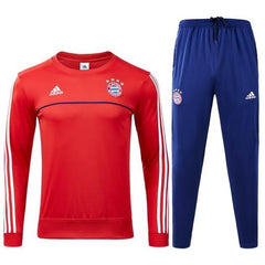 Bayern Munich 17/18 Red Tracksuit - IN STOCK NOW - TNT Soccer Shop