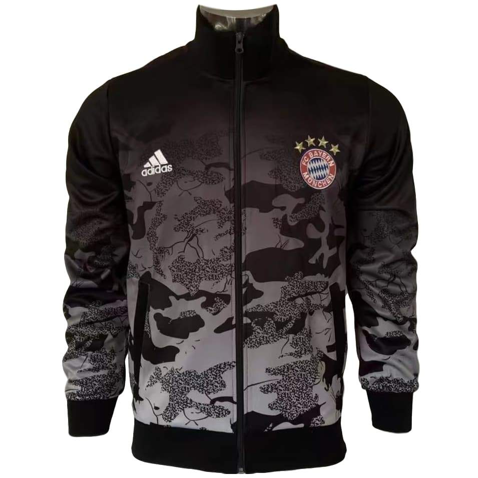d171e5961 Bayern Munich 17/18 Black Camouflage Jacket - IN STOCK NOW - TNT Soccer Shop