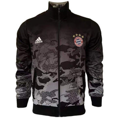 Bayern Munich 17/18 Black Camouflage Jacket - IN STOCK NOW - TNT Soccer Shop