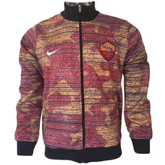 AS Roma 17/18 Orange Camouflage Jacket - IN STOCK NOW - TNT Soccer Shop
