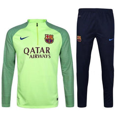 Barcelona 2017 Ghost Green Pre-Match Tracksuit - IN STOCK NOW - TNT Soccer Shop