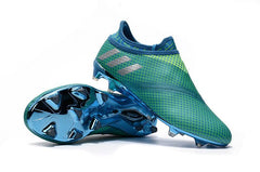 Messi 16+ Pureagility FG - Turquoise Blast - IN STOCK NOW - TNT Soccer Shop