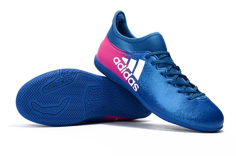X 16.3 IC - Blue Shock of Pink Footwear TNT Soccer Shop