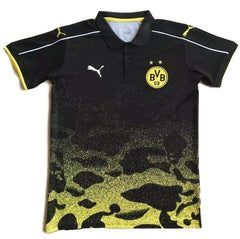 Borussia Dortmund 2017 Black Polo - IN STOCK NOW - TNT Soccer Shop