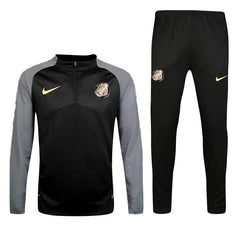 Paris Saint-Germain 16/17 Black Pre-Match Tracksuit Tracksuit TNT Soccer Shop