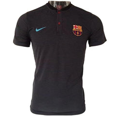 Barcelona 17/18 Black Polo - IN STOCK NOW - TNT Soccer Shop