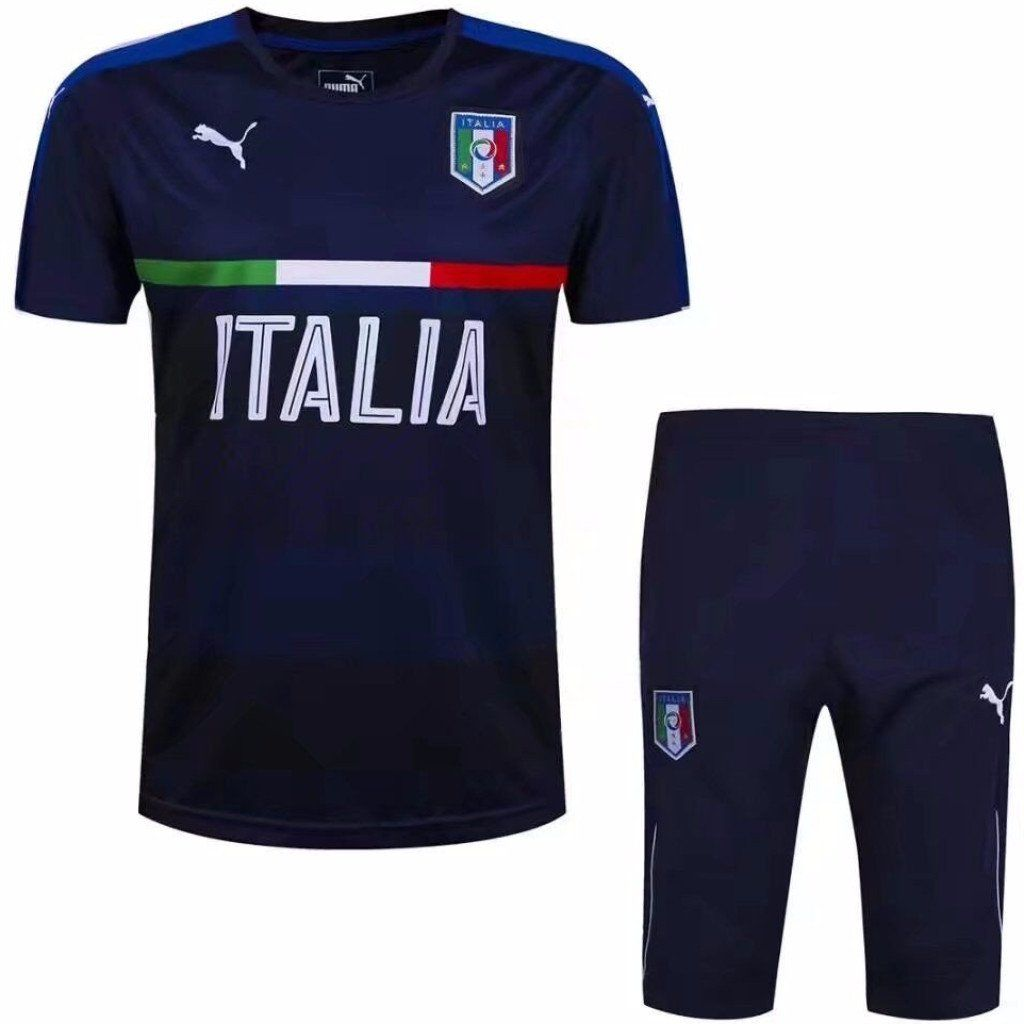 Italy 2017 Blue Training Kit Tracksuit TNT Soccer Shop