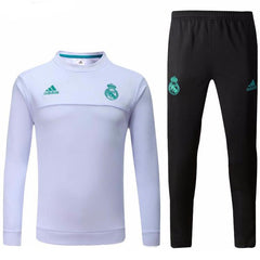 Real Madrid 17/18 White Tracksuit - IN STOCK NOW - TNT Soccer Shop