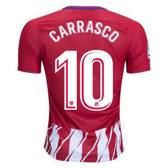 Atletico Madrid 17/18 Home Jersey Carrasco #10