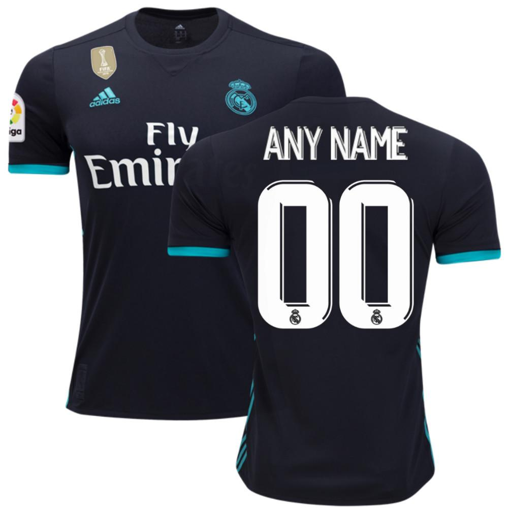 Real Madrid 17/18 Away Jersey Personalized Jersey TNT Soccer Shop