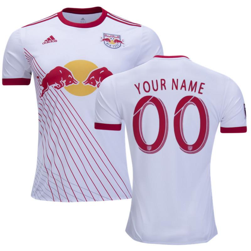low priced 58f27 54936 New York Red Bulls 17/18 Home Jersey Personalized