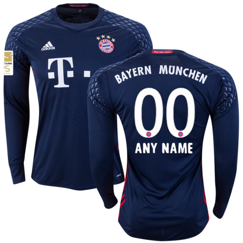 645820e5d Bayern Munich 16 17 LS Goalkeeper Jersey Personalized - IN STOCK NOW - TNT  Soccer