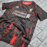 Liverpool 19/20 Black Lava Training Jersey Training Jerseys TNT Soccer Shop