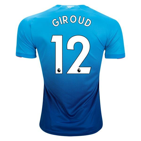 Arsenal 17/18 Away Jersey Giroud #12 Jersey TNT Soccer Shop