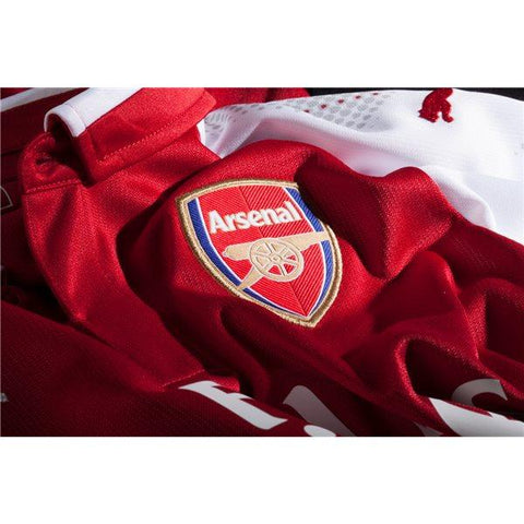 2bd6dd4ea Arsenal 17 18 Home Jersey Aubameyang  14 - IN STOCK NOW - TNT Soccer