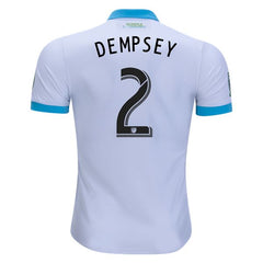 Seattle Sounders 17/18 Away Jersey Dempsey #2 Jersey TNT Soccer Shop