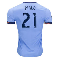 New York City FC 2017/18 Home Jersey Pirlo #21 Jersey TNT Soccer Shop