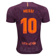 Barcelona 17/18 Third Jersey Messi #10