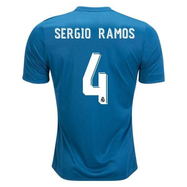 Real Madrid 17/18 Third Jersey Sergio Ramos #4 Jersey TNT Soccer Shop