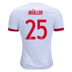 Bayern Munich 17/18 Third Jersey Müller #25 - IN STOCK NOW - TNT Soccer Shop