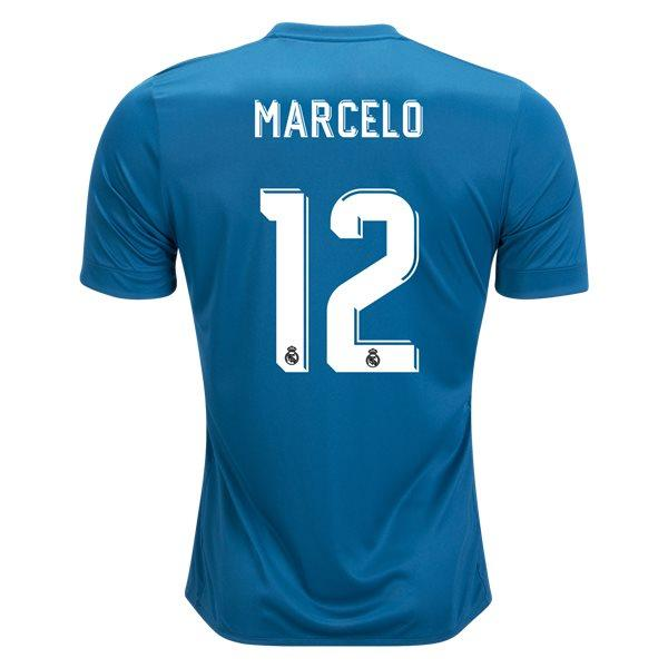 Real Madrid 17/18 Third Jersey Marcelo #12 Jersey TNT Soccer Shop