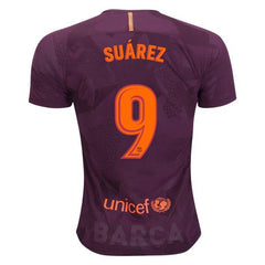 Barcelona 17/18 Third Jersey Luis Suarez #9 - IN STOCK NOW - TNT Soccer Shop