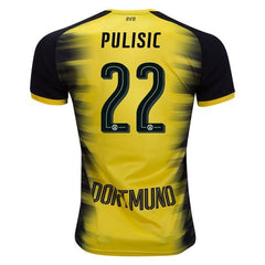 Borussia Dortmund 17/18 European Jersey Pulisic #22 - IN STOCK NOW - TNT Soccer Shop