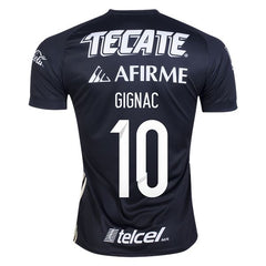 Tigres UANL 17/18 Third Jersey Personalized Gignac #10 Jersey TNT Soccer Shop