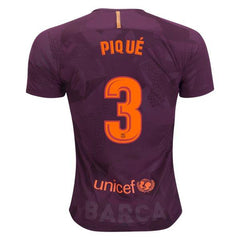 Barcelona 17/18 Third Jersey Piqué #3 - IN STOCK NOW - TNT Soccer Shop
