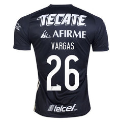 Tigres UANL 17/18 Third Jersey Personalized Vargas #26 Jersey TNT Soccer Shop