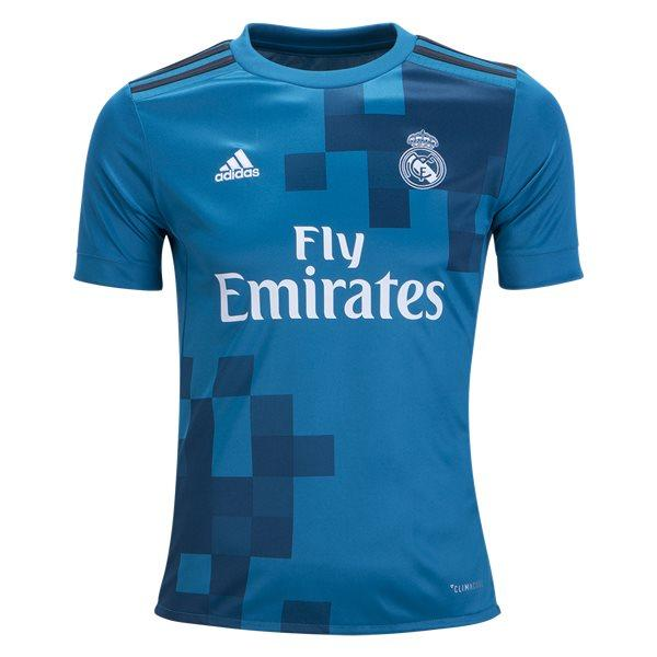 Real Madrid 17/18 Third Youth Kit Youth Kit TNT Soccer Shop