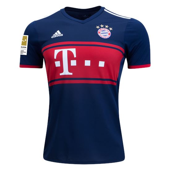 Bayern Munich 17/18 Away Jersey Jersey TNT Soccer Shop