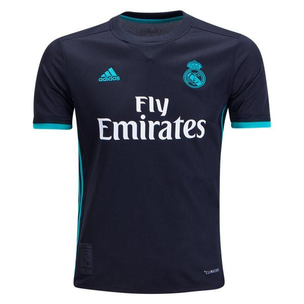 Real Madrid 17/18 Away Youth Kit Youth Kit TNT Soccer Shop