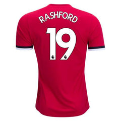Man. United 17/18 Home Jersey Rashford #19 - IN STOCK NOW - TNT Soccer Shop