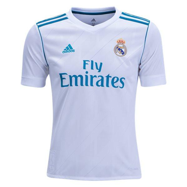 17580d5a216 Real Madrid 17 18 Home Youth Kit - IN STOCK NOW - TNT Soccer Shop
