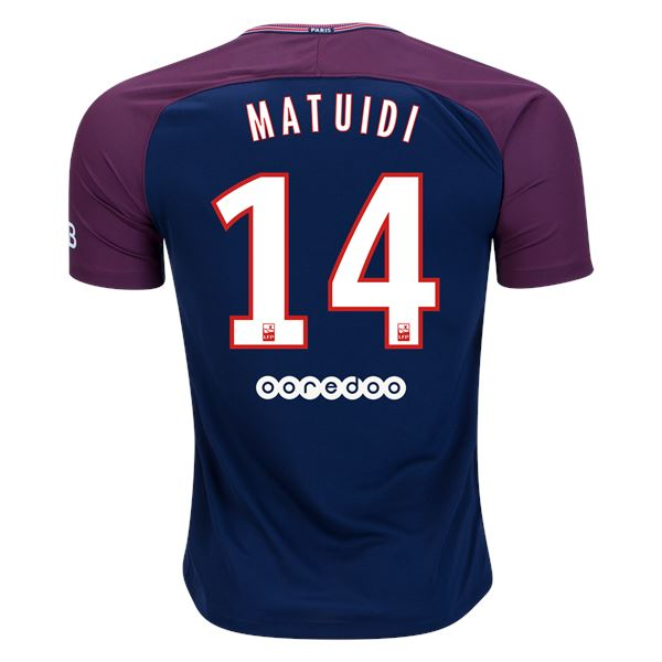 Paris Saint-Germain 17/18 Home Jersey Matuidi #14 Jersey TNT Soccer Shop
