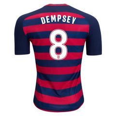 USA 2017 Gold Cup Jersey Dempsey #8