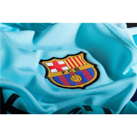 2c85778fa23 Barcelona 17/18 Away LS Jersey Personalized - IN STOCK NOW - TNT Soccer Shop