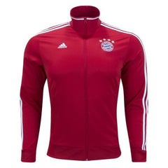 Bayern Munich 17/18 Red Track Jacket READY TO SHIP! - IN STOCK NOW - TNT Soccer Shop