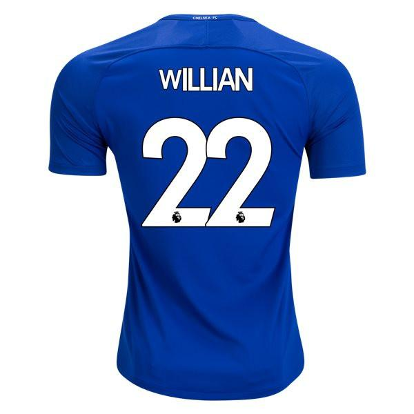 Chelsea 17 18 Home Jersey Willian  22 - IN STOCK NOW - TNT Soccer 7d4548740