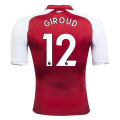 Arsenal 17/18 Home Jersey Giroud #12 - IN STOCK NOW - TNT Soccer Shop