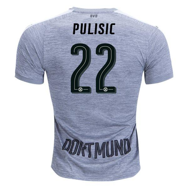 finest selection 930b8 e36bd Borussia Dortmund 17/18 Third Jersey Pulisic #22